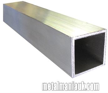 Buy Aluminium box section 1 1/4 (31.75mm) x 1 1/4 x 3.2mm Online