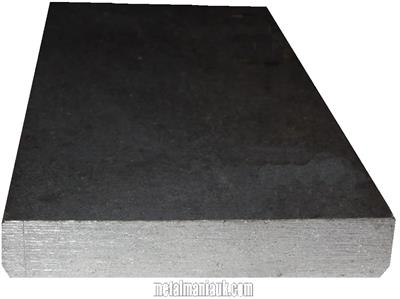 Buy Black flat steel strip 150mm x 10mm Online