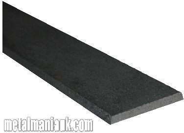 Buy Black flat steel strip 20mm x 3mm Online