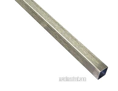 Buy Stainless steel box section D/P 20mm x 20mm x 1.5mm wall Online