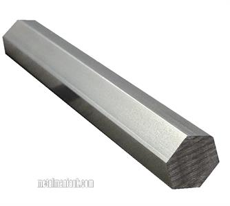 Buy Stainless steel hexagon bar 303 spec 22mm A/F Online