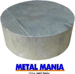 Buy Aluminium billet 5 1/2 dia x 57mm thick Online
