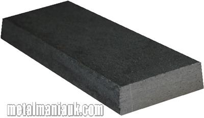 Buy Black Flat steel strip 25mm x 8mm Online